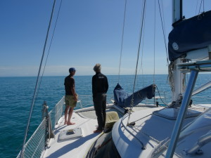 Crossing the Sea of Abaco