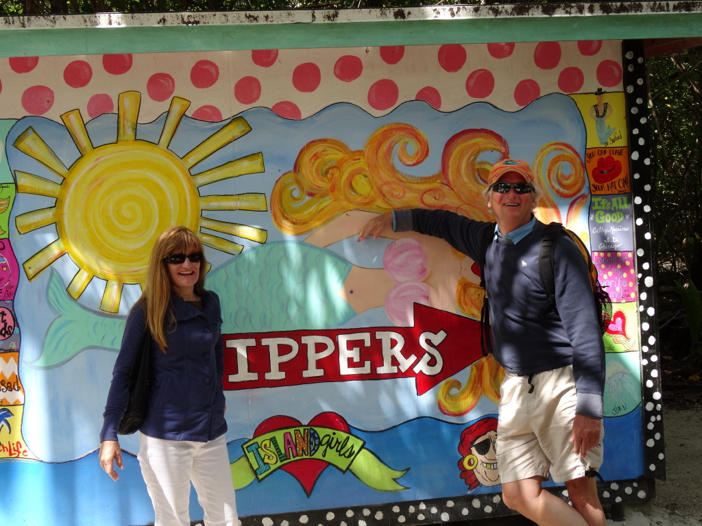 Not trip to the Abacos is complete without a visit to the world famous Nippers Bar