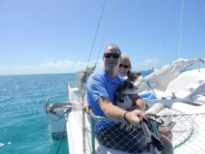 Selfie! Clark, Michelle, Tugboat, & Sailor