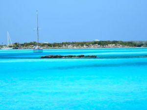 Looking across to Little Pipe Creek Cay
